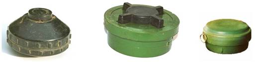 anti-personnel mines with small pressure plates
