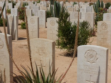 WW2 graveyard in Libya